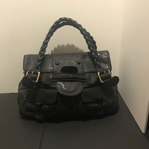 c588c2b07e6 Valentino Garavani Bags | Navy Leather Histoire Bag | Poshmark